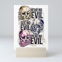 Hear No Evil Art Mini Art Print