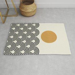 Sun & Wave - Oriental Pattern Rug