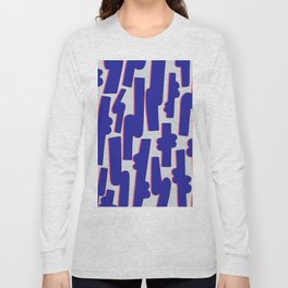 Blue Candy Long Sleeve T-shirt