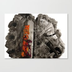 Incoming Zombies Canvas Print