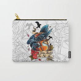 Time Waits For No Man Carry-All Pouch
