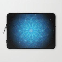 crystal mind. sacred geometry mandala Laptop Sleeve