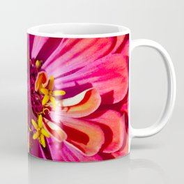 Red Zinnia Coffee Mug