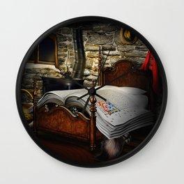 A fairytale before sleep Wall Clock