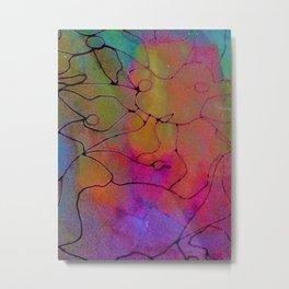 Neon Boy Metal Print