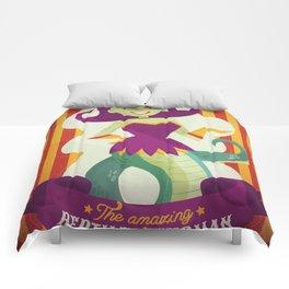 The amazing reptile woman Comforters