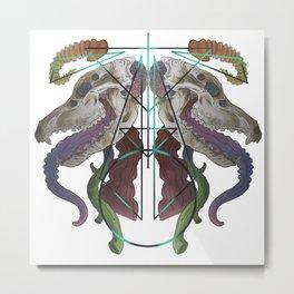Geo-Trachea Metal Print