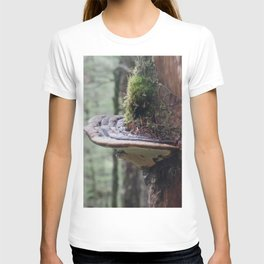 Magical Fungi World   Nature Photography T-shirt