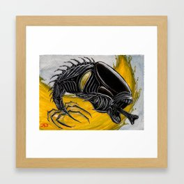 Koi Series, Non Native Invasive Species Framed Art Print