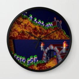 Inside Lemmings Wall Clock