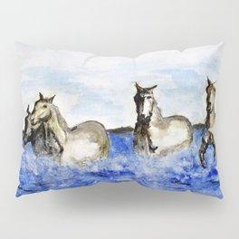 Sea Horses Pillow Sham