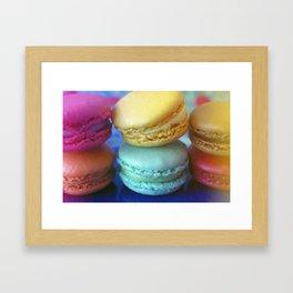 Macaron Rainbow 2 Framed Art Print