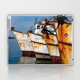 Shrimp Boats, Mazatlan Laptop & iPad Skin