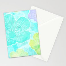 Happy flower Stationery Cards