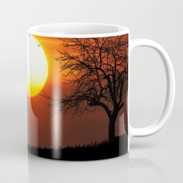 Giraffe sundown Coffee Mug