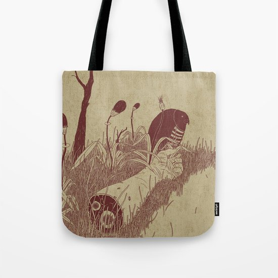 Helvete Forest Tote Bag