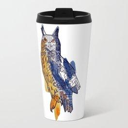 Geometric Owl Travel Mug