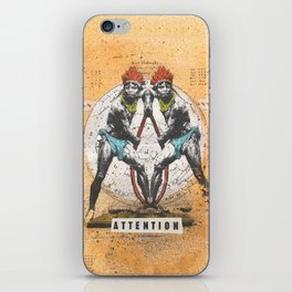 Attention iPhone Skin