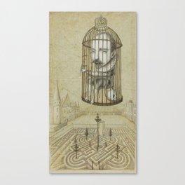 Michel Du Montaigne (1533 - 1592) An Inspirational Philosopher; Prison in the Sky Canvas Print
