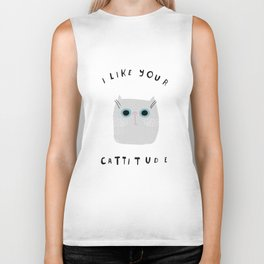 Catisfaction No. 6 Biker Tank