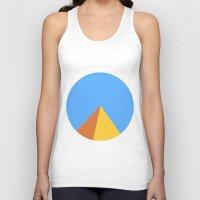 pyramid Tank Tops featuring Pyramid by Nikkita