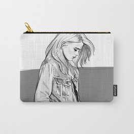 Heavy Metal Heart - Sky Ferreira illustration portrait Carry-All Pouch