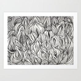 pussy power Art Print