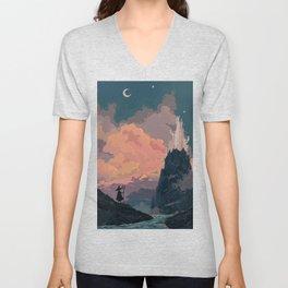 Starry Destinations Unisex V-Neck