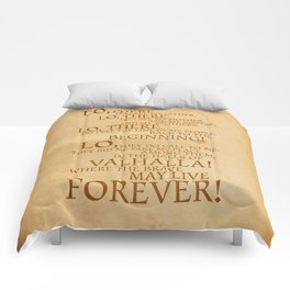 Viking Prayer Comforters