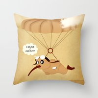 kiwi Throw Pillows featuring kiwi by mark ashkenazi