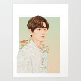 nurture. growth. [baekhyun exo] Art Print