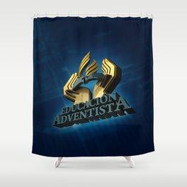Educación Adventista Shower Curtain