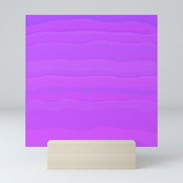 Purple Mountain Majesty Mini Art Print