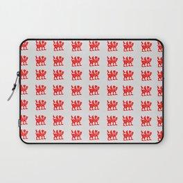 Red Scythian Griffin Laptop Sleeve
