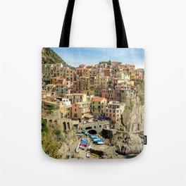 Manarola, Cinque Terre, Italy Tote Bag