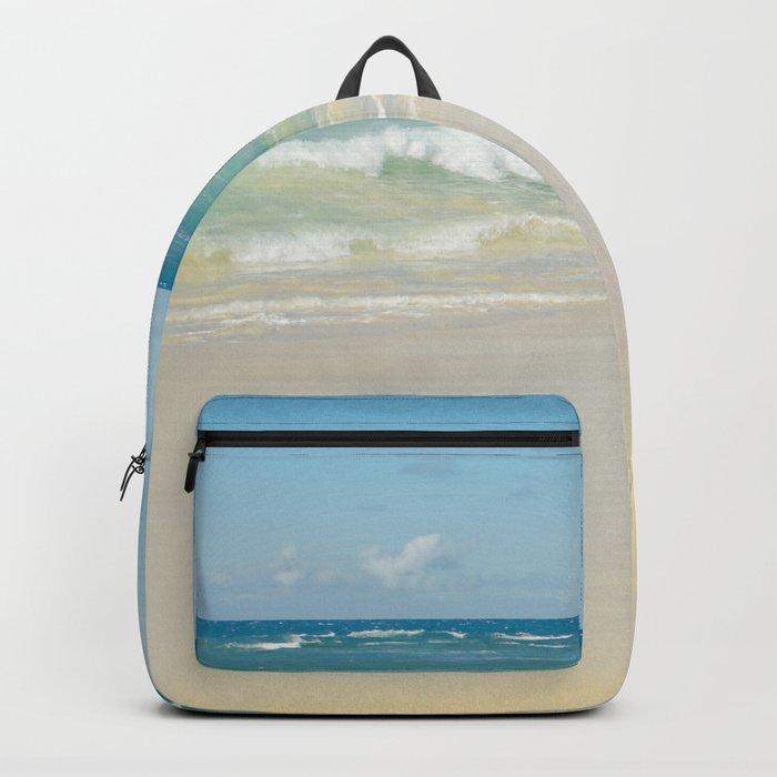 Beach Love the Secret Heart of Wonder Backpack