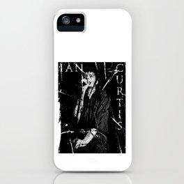 Ian Curtis 'Legend' iPhone Case