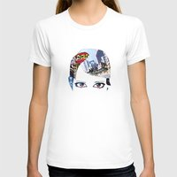 60s T-shirts featuring '60s Eyes- Original Color by Katy Rose