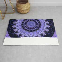Mandala Path of enlightenment Rug
