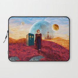 13th Doctor at Gallifrey Planet Laptop Sleeve