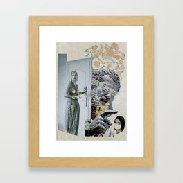 Lo Sfratto  Framed Art Print