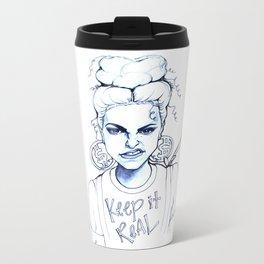 #STUKGIRL KYE (Keep it Real) Metal Travel Mug
