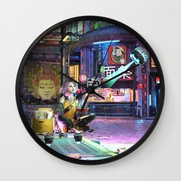 Early Morning Routine Wall Clock