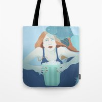 """finding nemo Tote Bags featuring I feel like a little girl again watching """"Finding Nemo"""" by HermanasOso"""