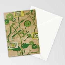 Flower Machine Stationery Cards