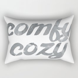 comfy cozy Rectangular Pillow