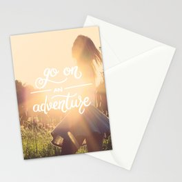 Go on an adventure Stationery Cards