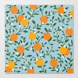 Valencia Oranges Canvas Print