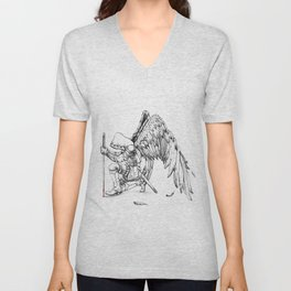 ArchAngel Warrior Unisex V-Neck