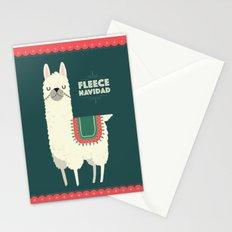 Fleece Navidad Stationery Cards